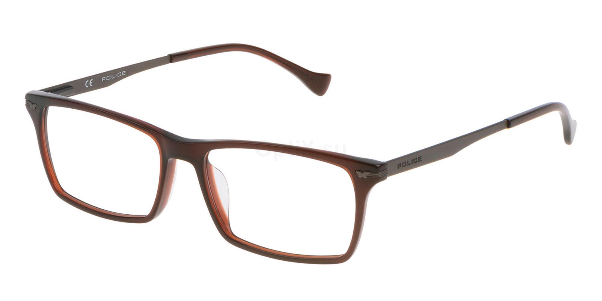 0958 VPL054W Glasses, Police