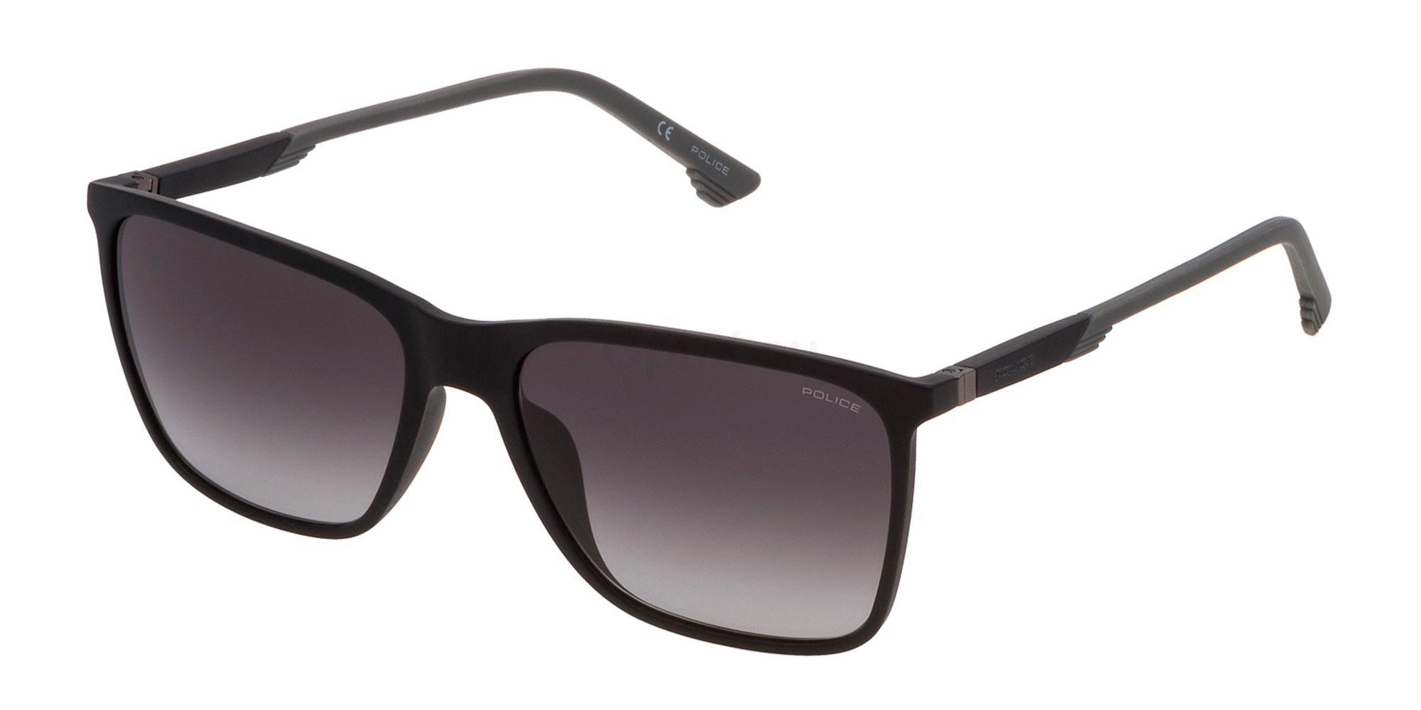 0U28 SPL716 Sunglasses, Police