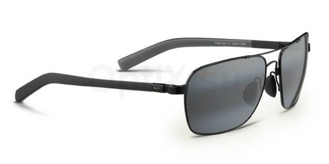 326-02 Freight Trains Sunglasses, Maui Jim