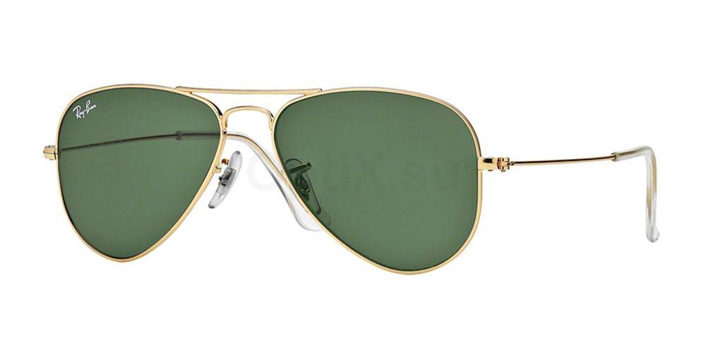 L0207 RB3044 Aviator Small Metal Sunglasses, Ray-Ban