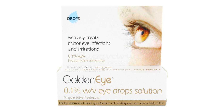 Eye Drops Golden Eye W/V Eye Drops Solution Accessories, Optical accessories