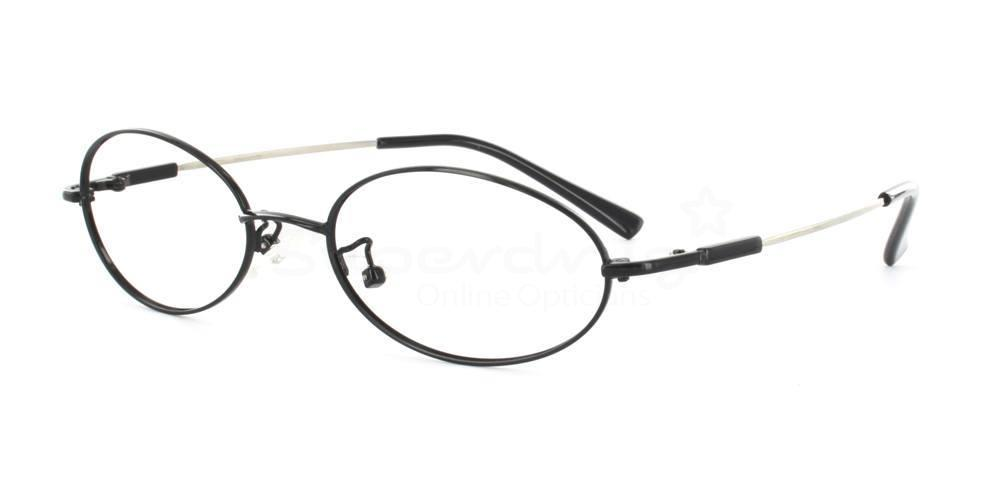 Black 2601 Glasses, Indium