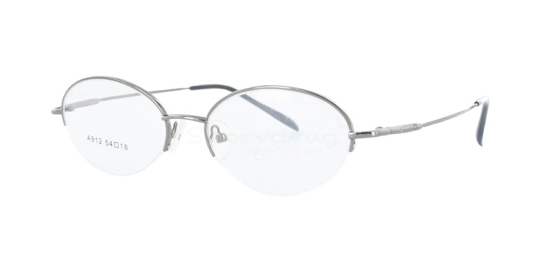 Gunmetal A912 Glasses, Indium