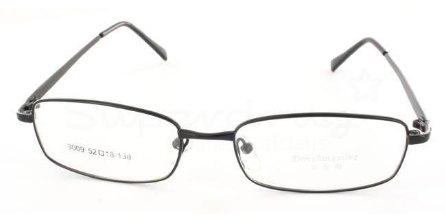Black 3009 Glasses, Indium