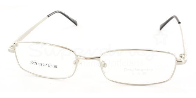 Silver 3009 Glasses, Indium