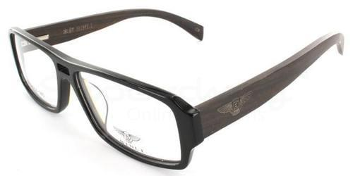 Black B-6017 - Wood Sides , Zirconium