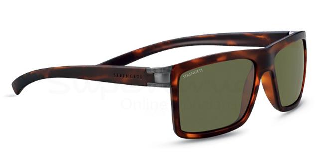 7929 Serengeti Signature BRERA Sunglasses, Serengeti