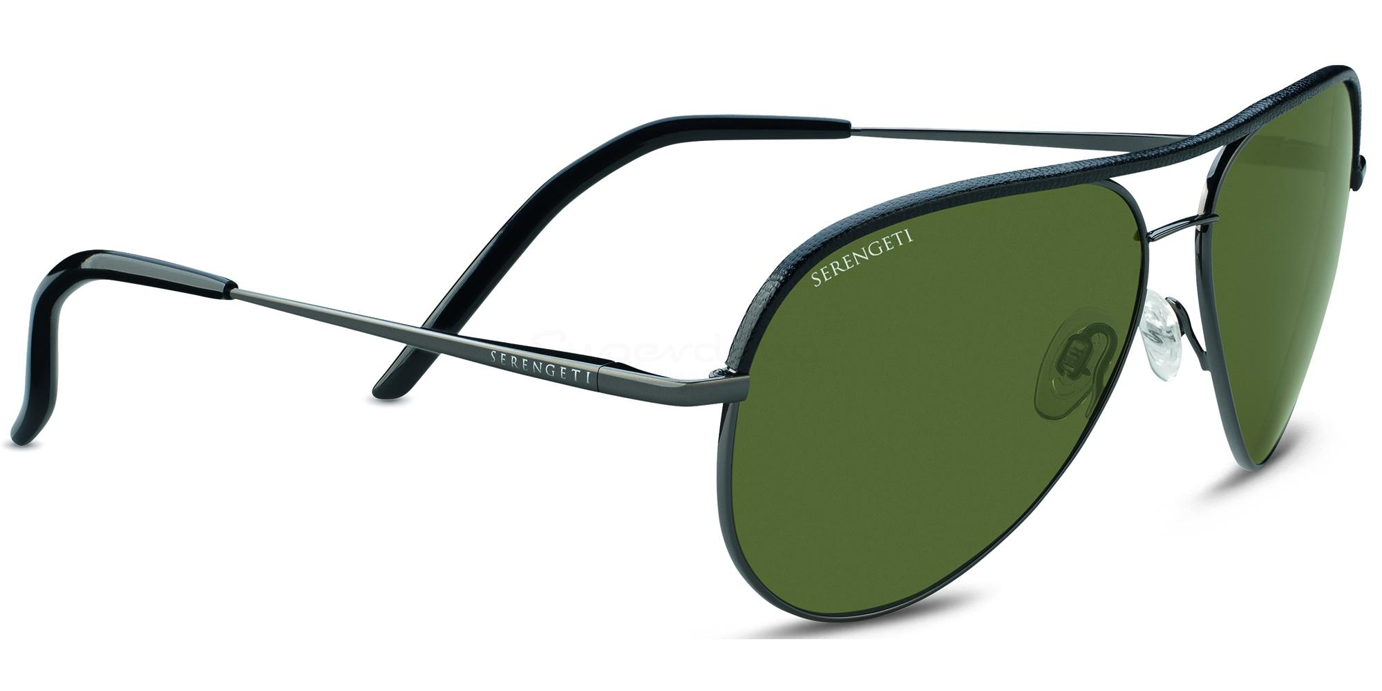 8548 CARRARA Leather Sunglasses, Serengeti