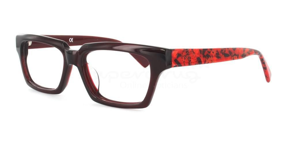 C5 6651 Glasses, Cobalt
