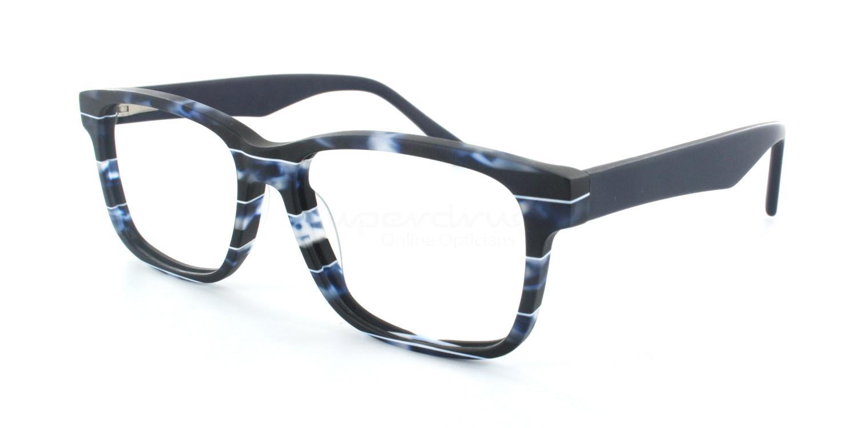 C1 B003 Glasses, Cobalt