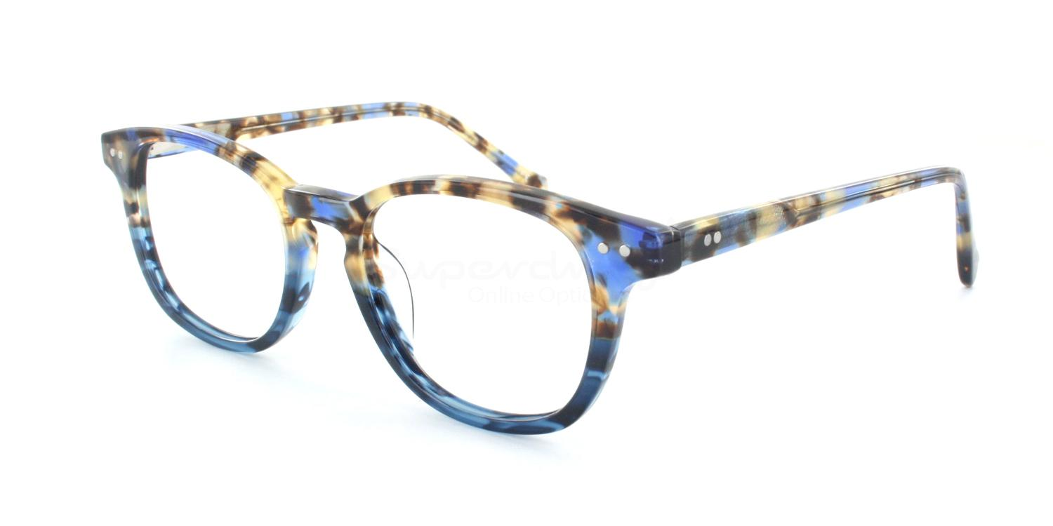 C2 K9239 Glasses, Cobalt