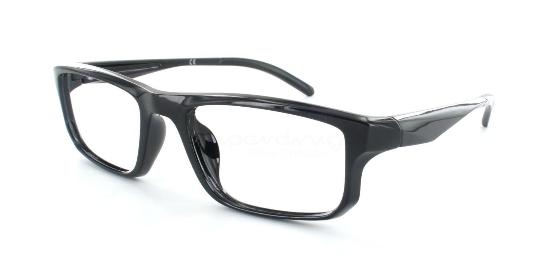 C001 5501 Glasses, Cobalt