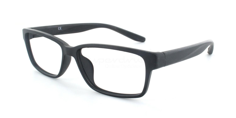 C002 7103 Glasses, Cobalt