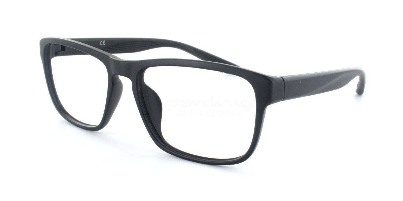 C002 7104 Glasses, Cobalt