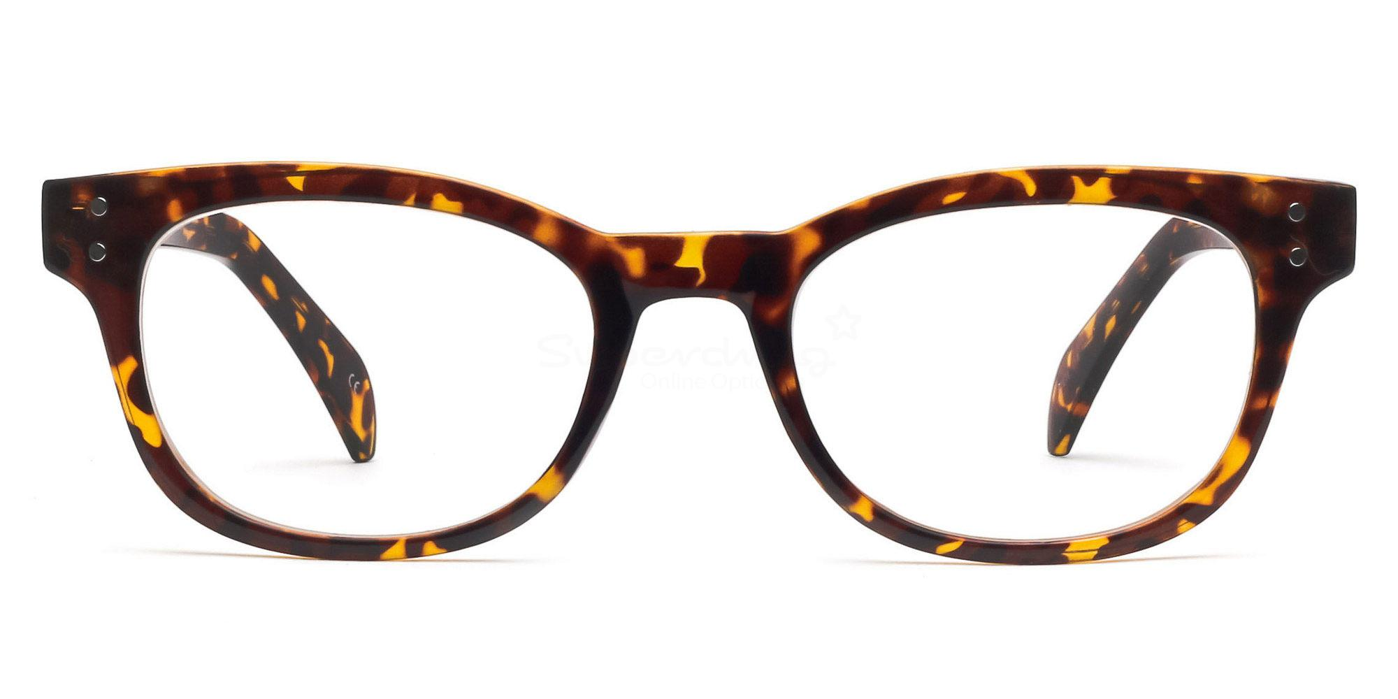 Demi Havana P2249 Havana Glasses, Helium