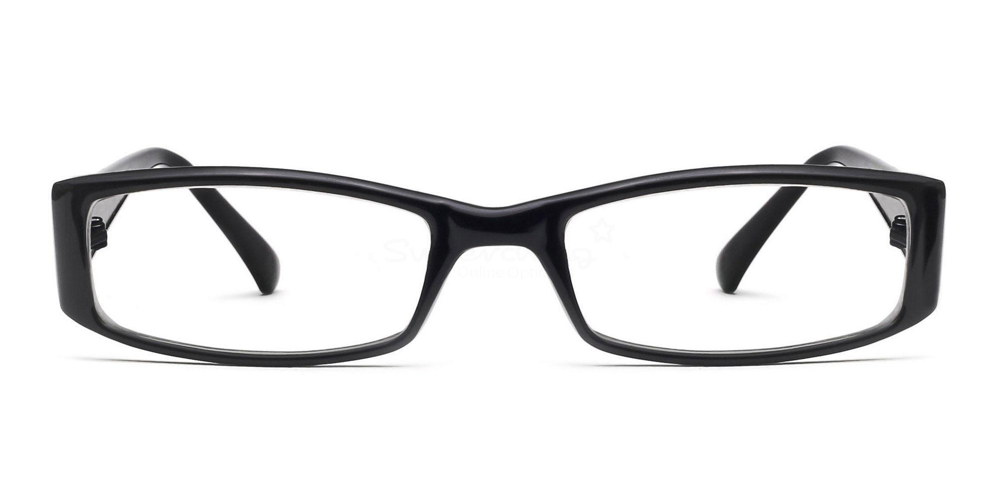 C1 P2251 - Black Glasses, Helium