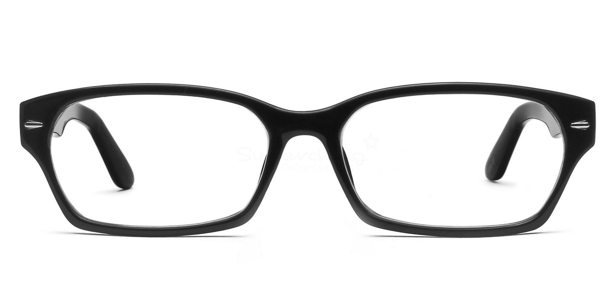 Black P2267 - Black Glasses, Helium