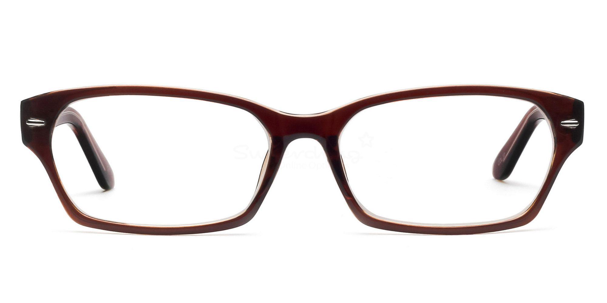 Brown P2267 - Brown Glasses, Helium