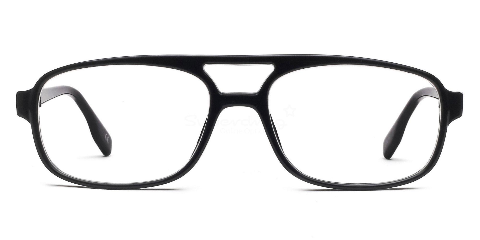 Black P2395 - Black Glasses, Helium
