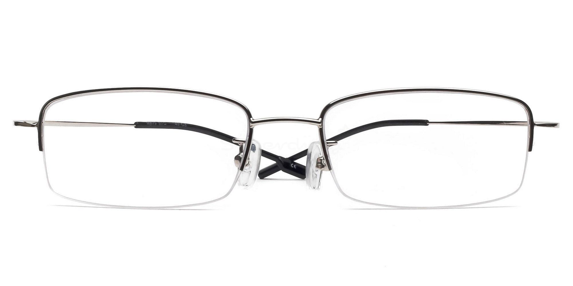 Silver M879 - Silver Glasses, Indium