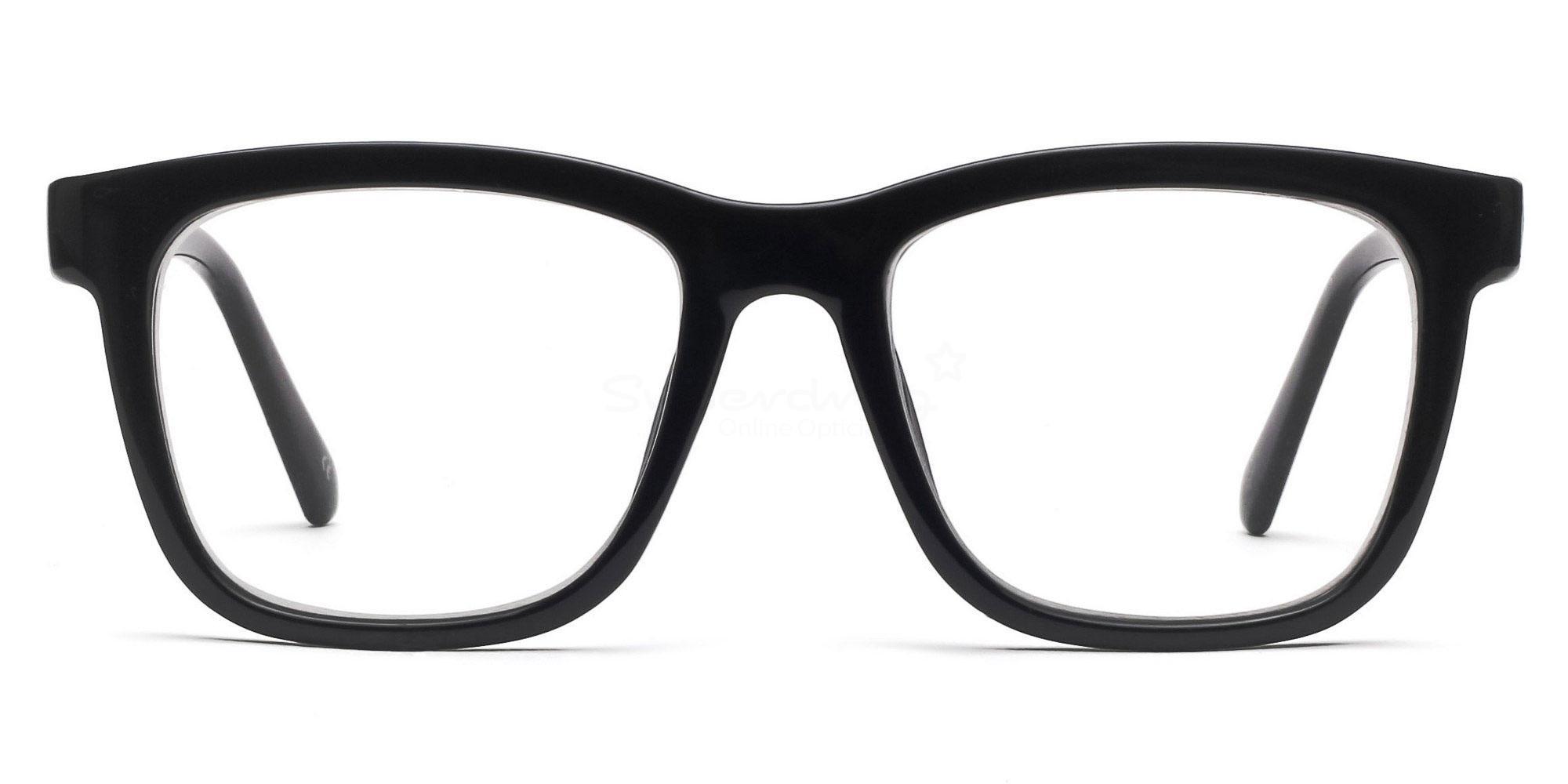 COL.01 2444 - Black Glasses, Helium