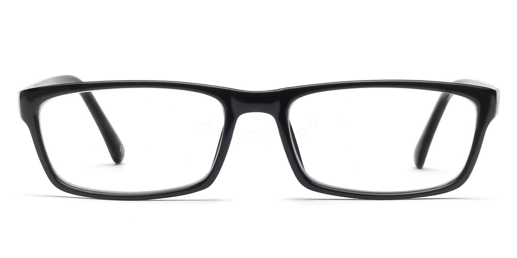COL.01 2426 - Black Glasses, Helium
