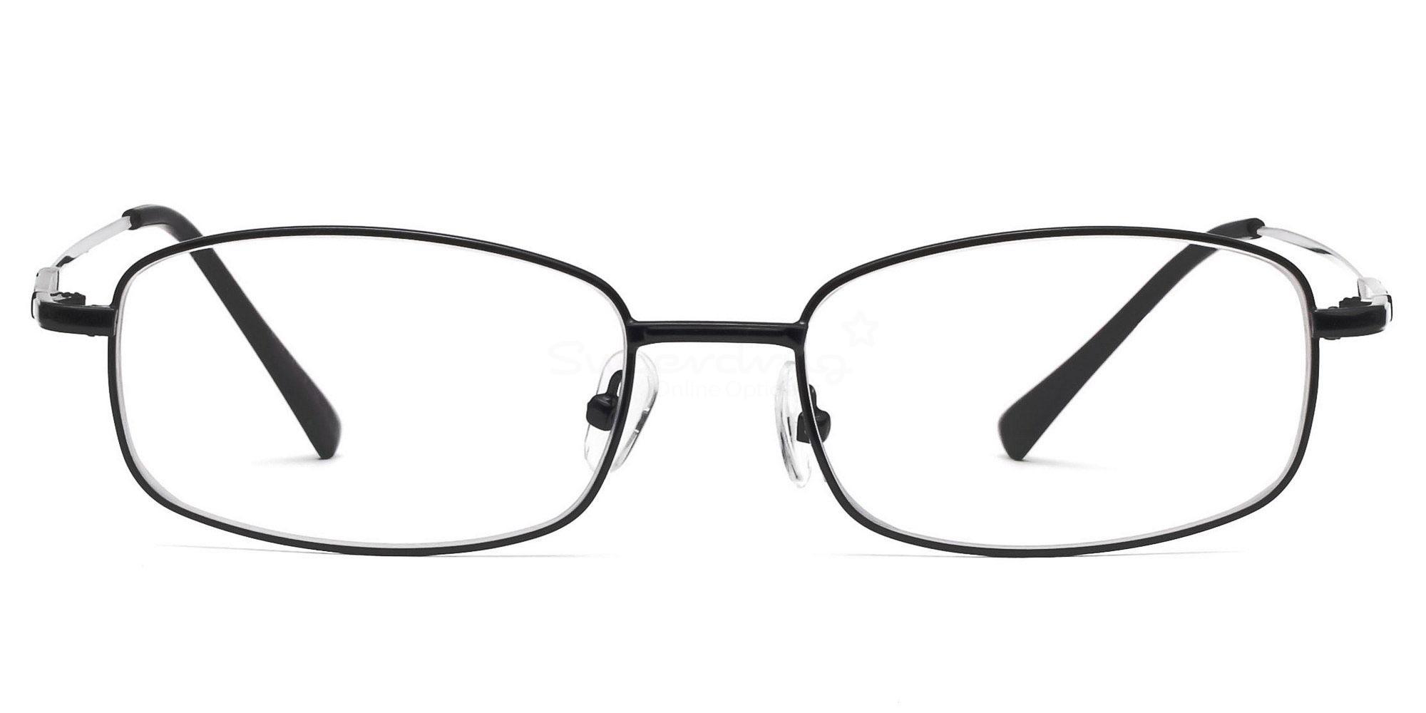 Black 8052 - Black Glasses, Helium