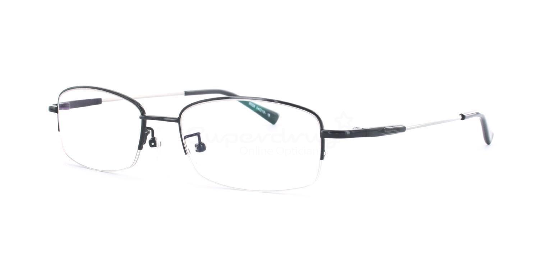 Black 8058 - Black Glasses, Indium