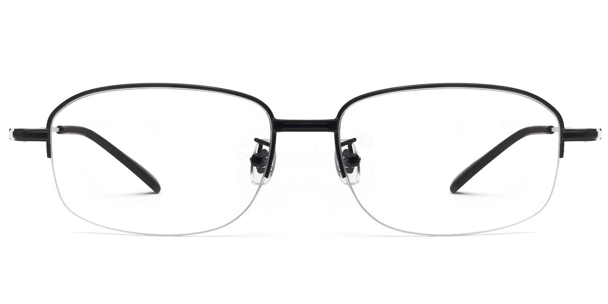 Black 8144 - Black Glasses, Indium