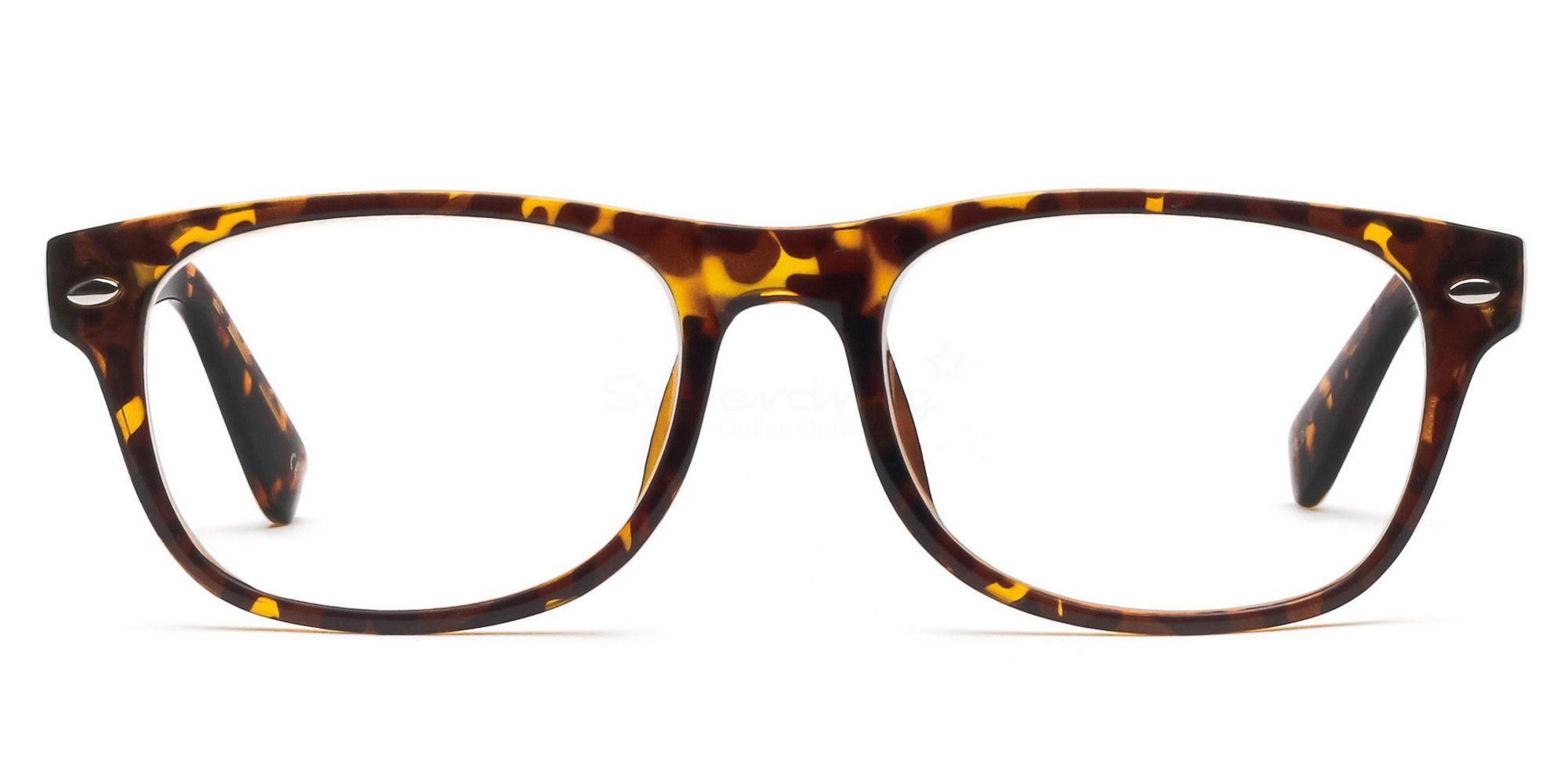 C04 P2383 - Havana Glasses, Helium