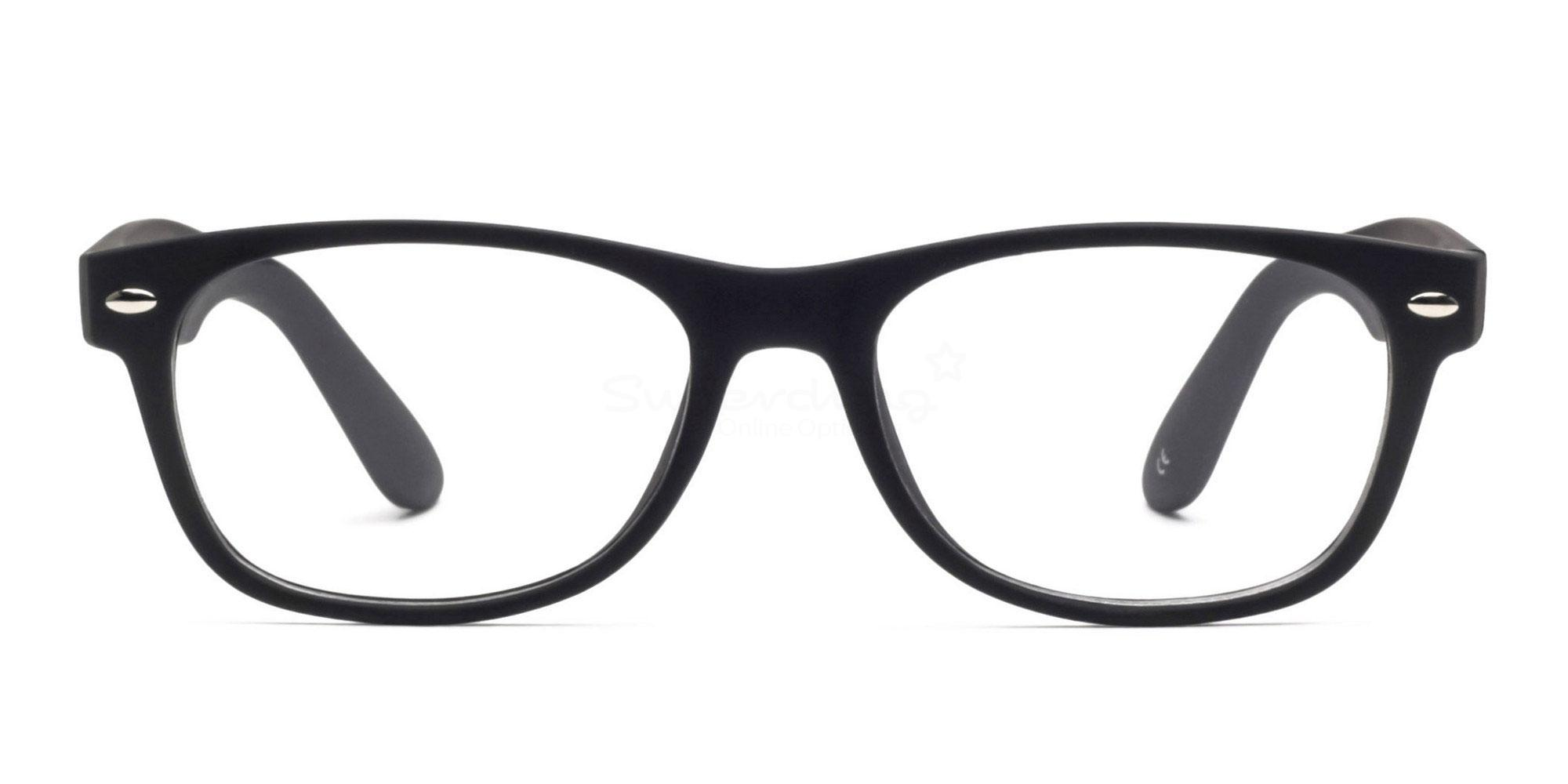 Black 8122 - Black Glasses, Helium