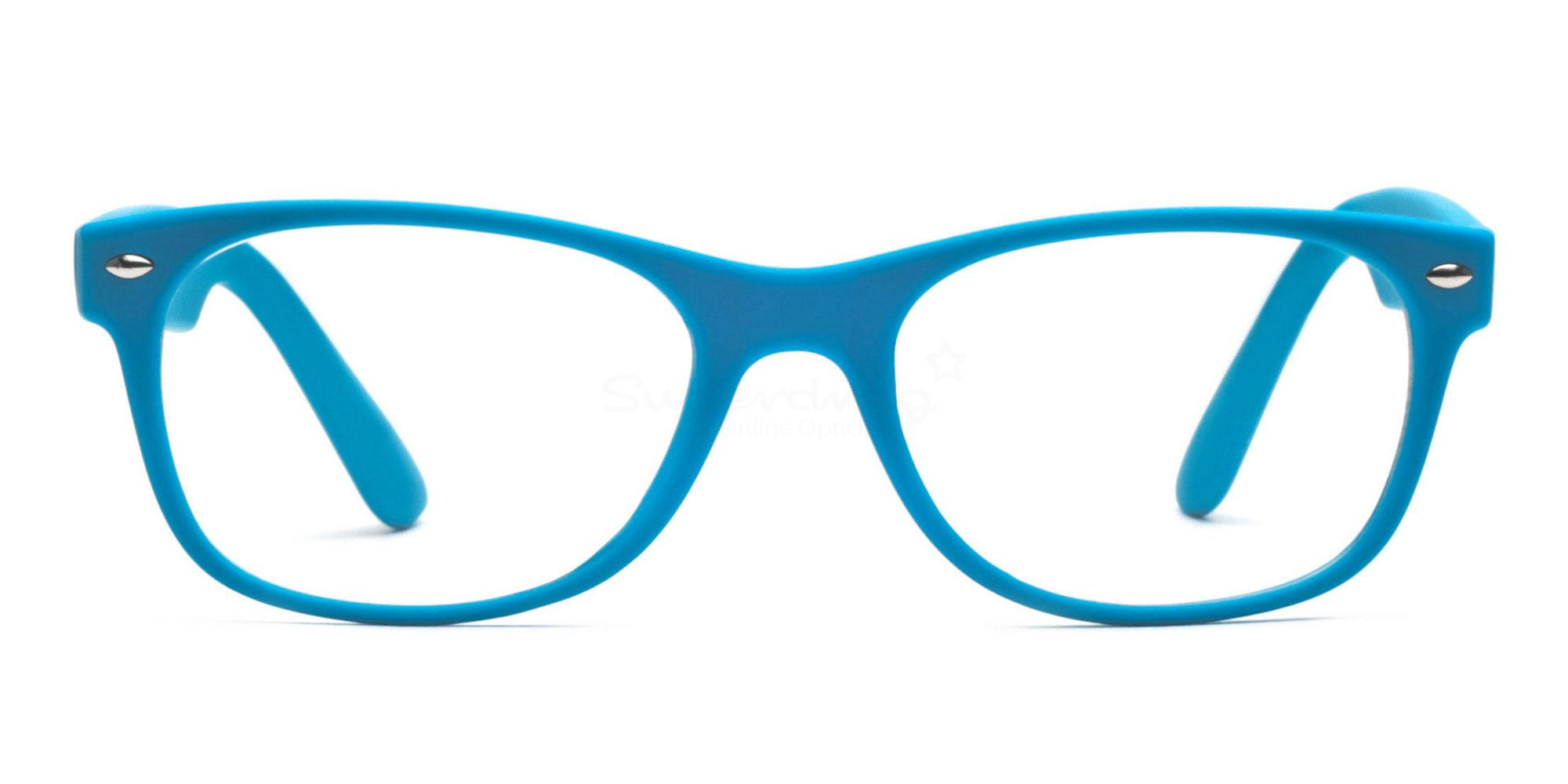Light Blue 8122 - Light Blue Glasses, Helium