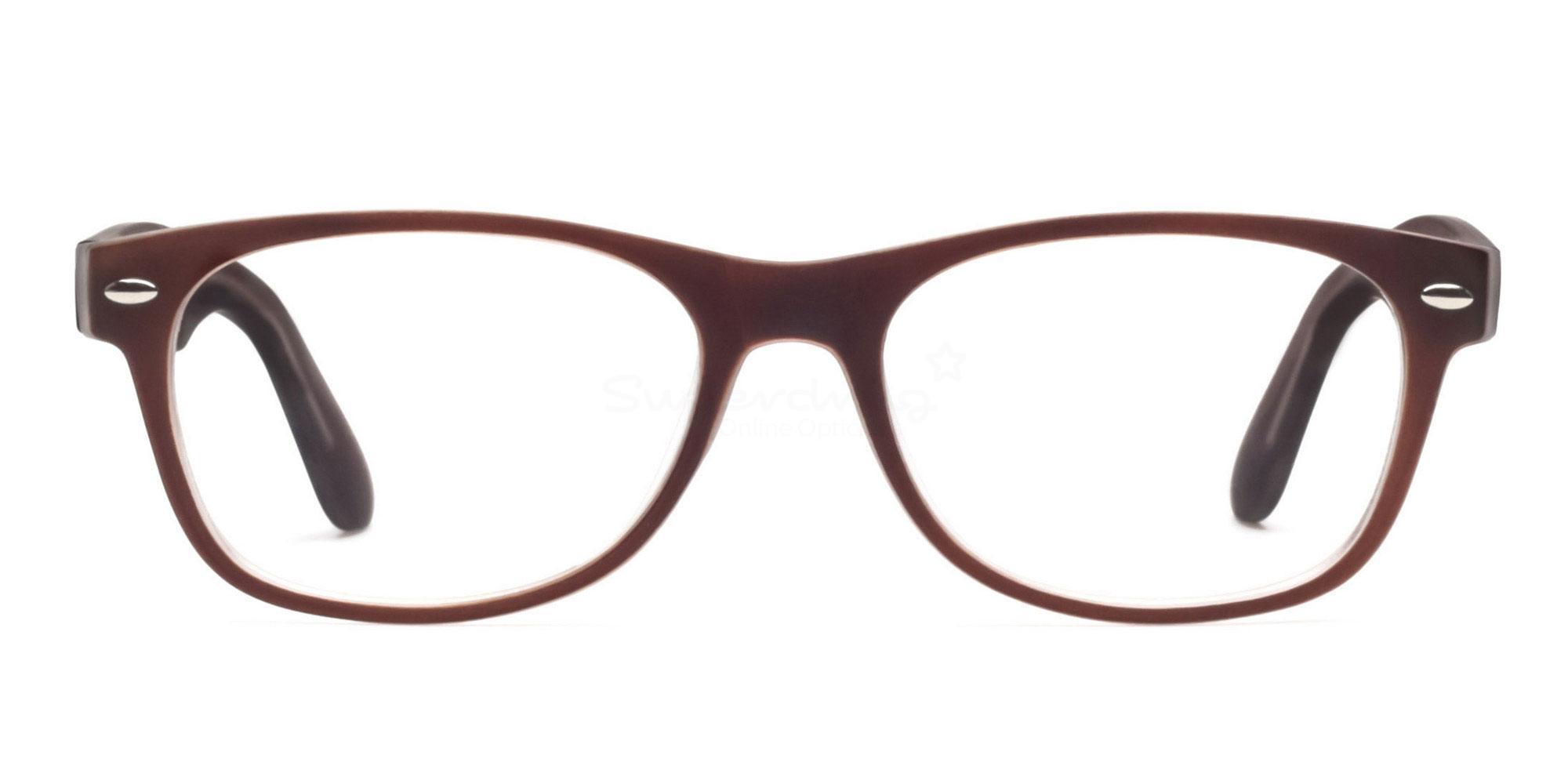 Brown 8122 - Brown Glasses, Helium