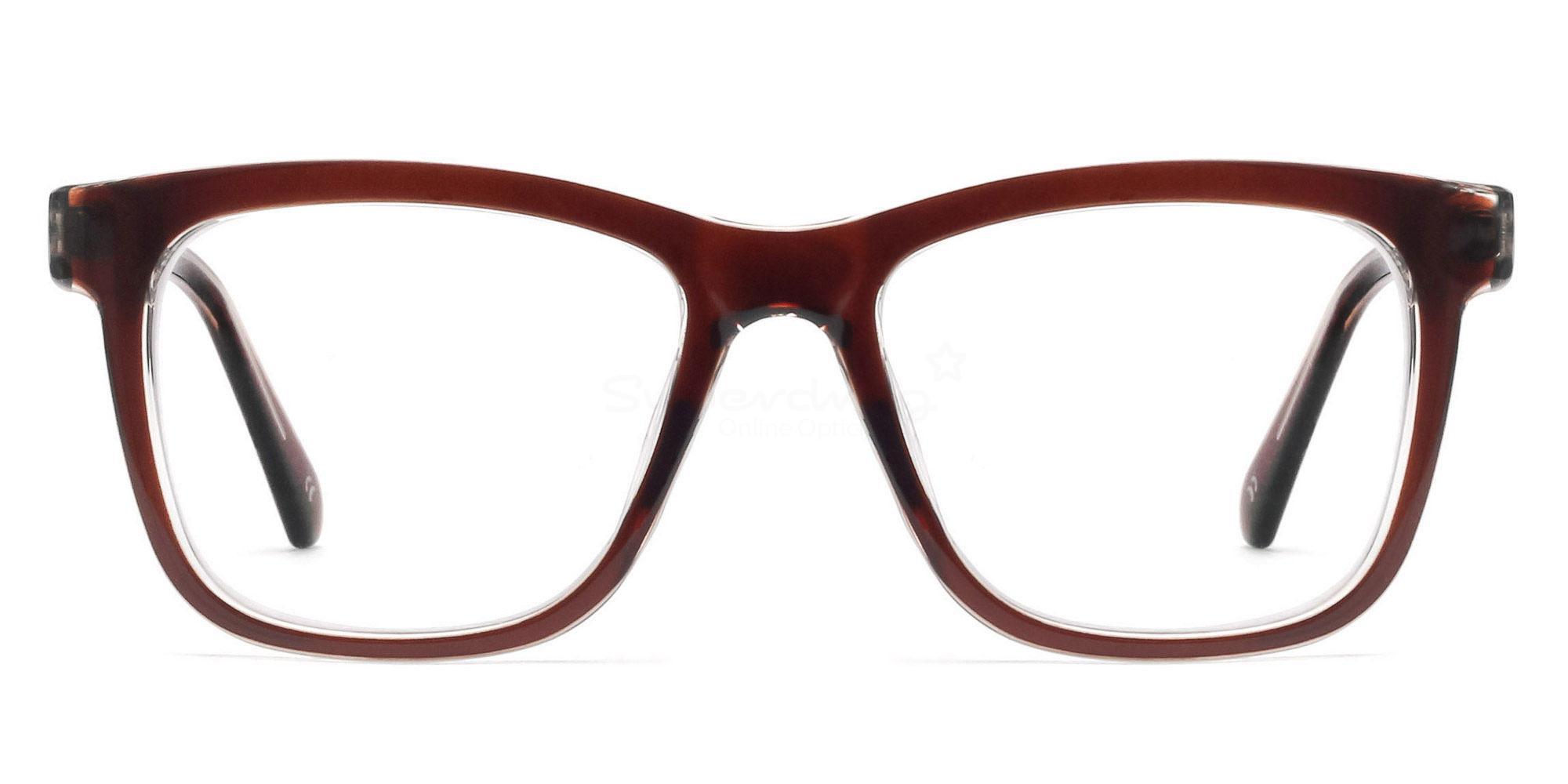 C37 2444 - Brown Glasses, Helium