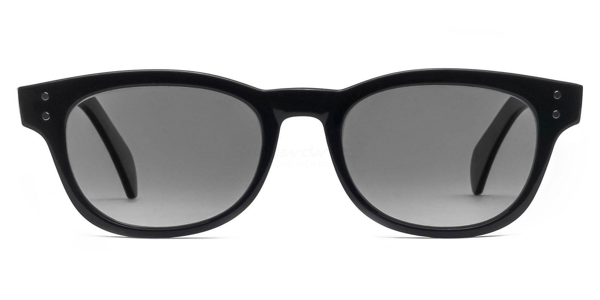 C01 Polarized Grey P2249 Shiny Black (Polarized) , Neon