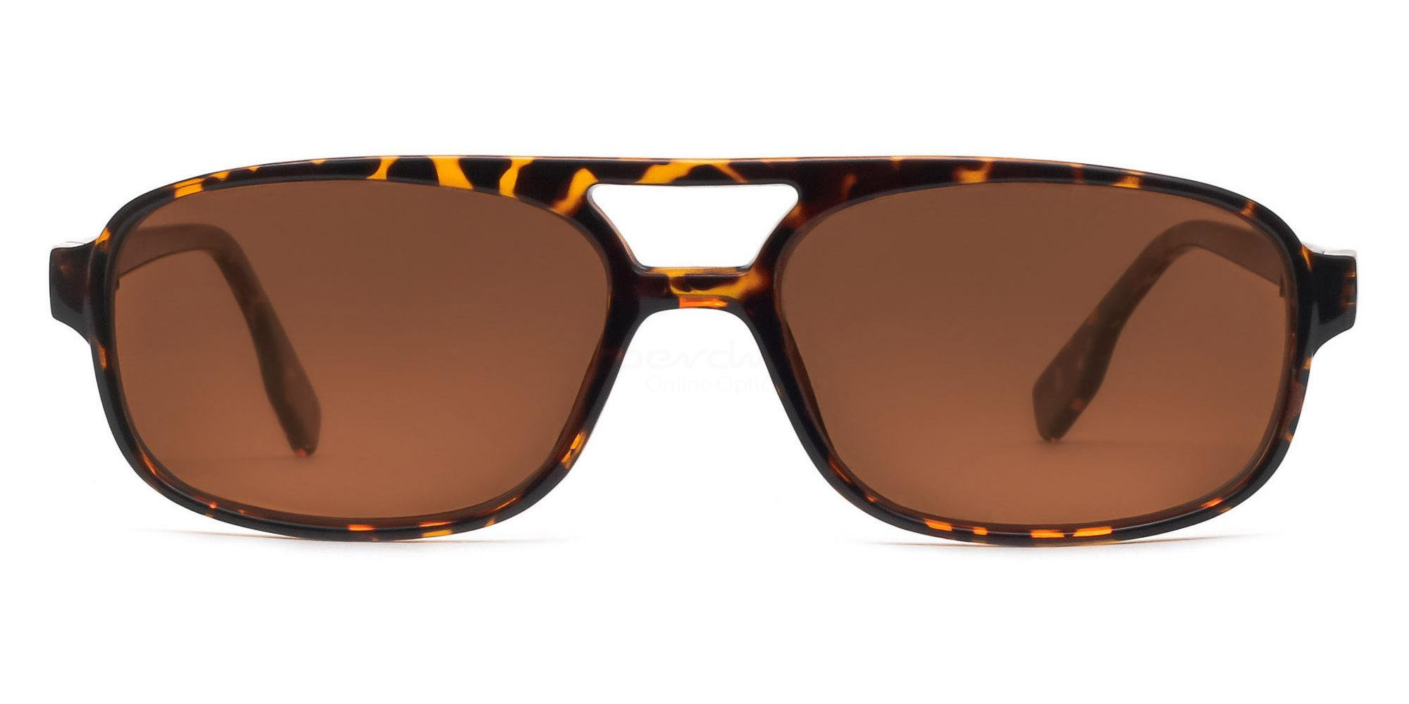 C04 Polarized Brown P2395 - Demi Havana (Polarized) , Neon