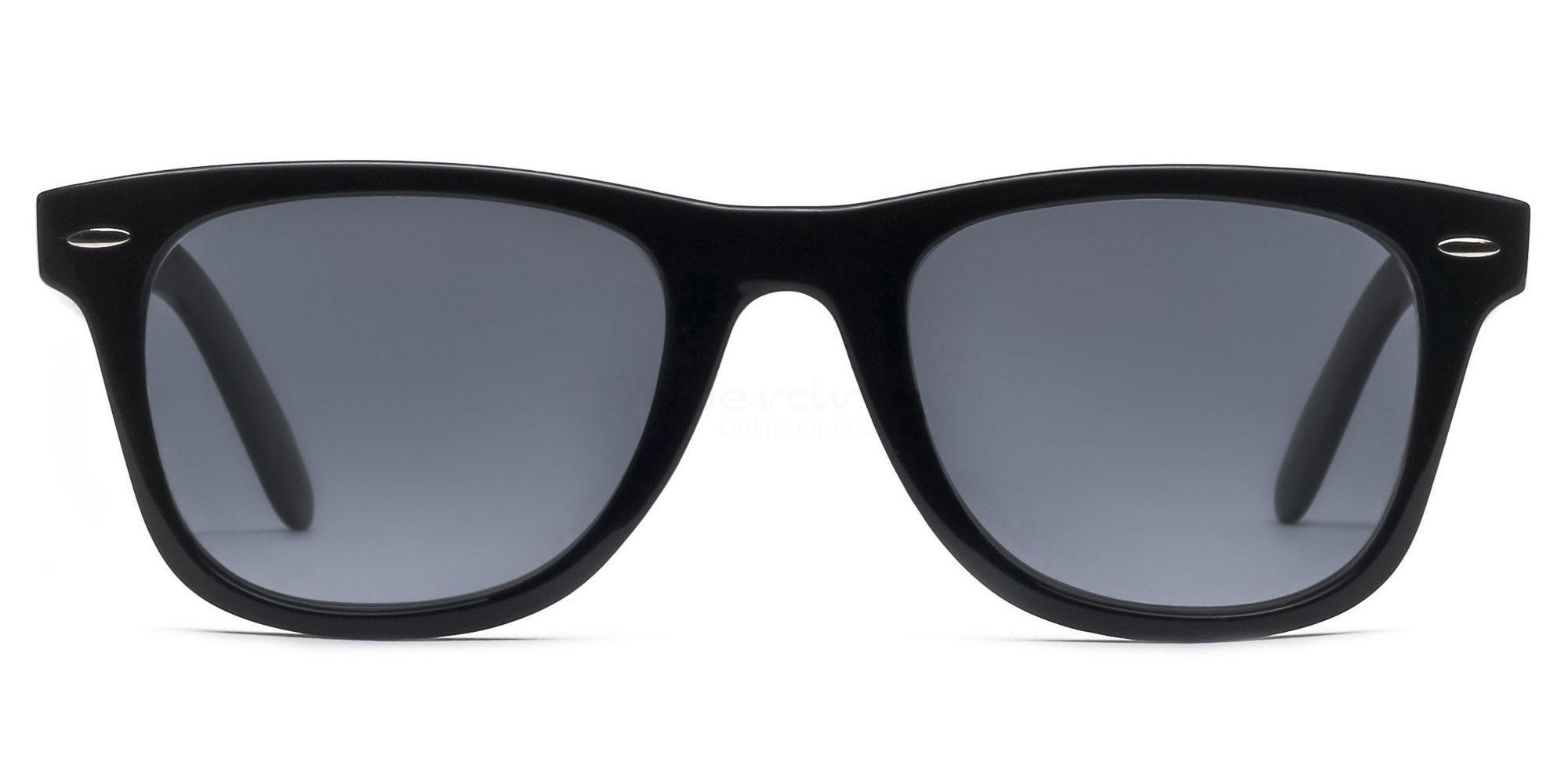 C01 Dark Grey P2429 - Black (Sunglasses) Sunglasses, Indium