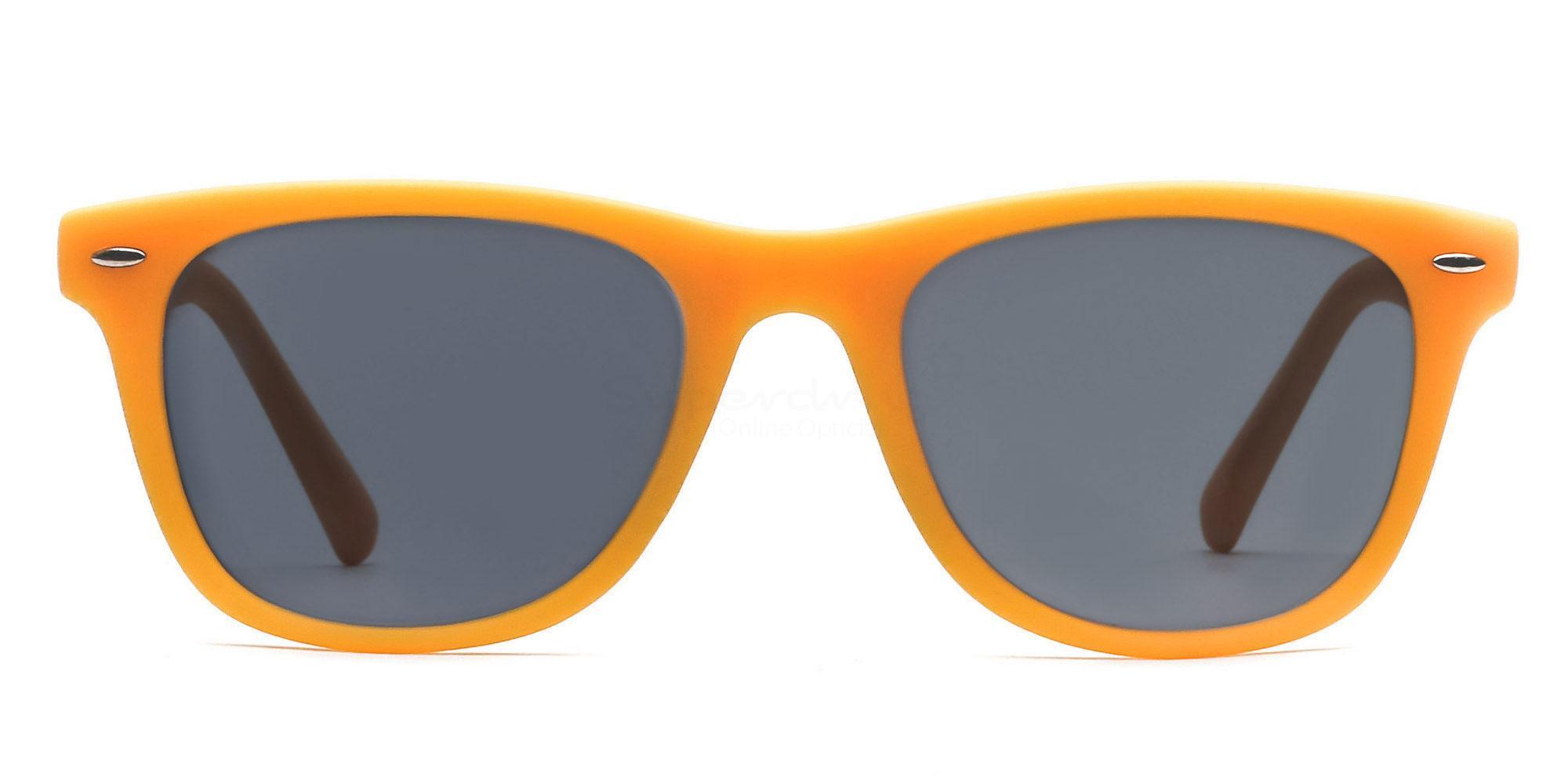 C2 8121 - Yellow (Sunglasses) Sunglasses, Helium