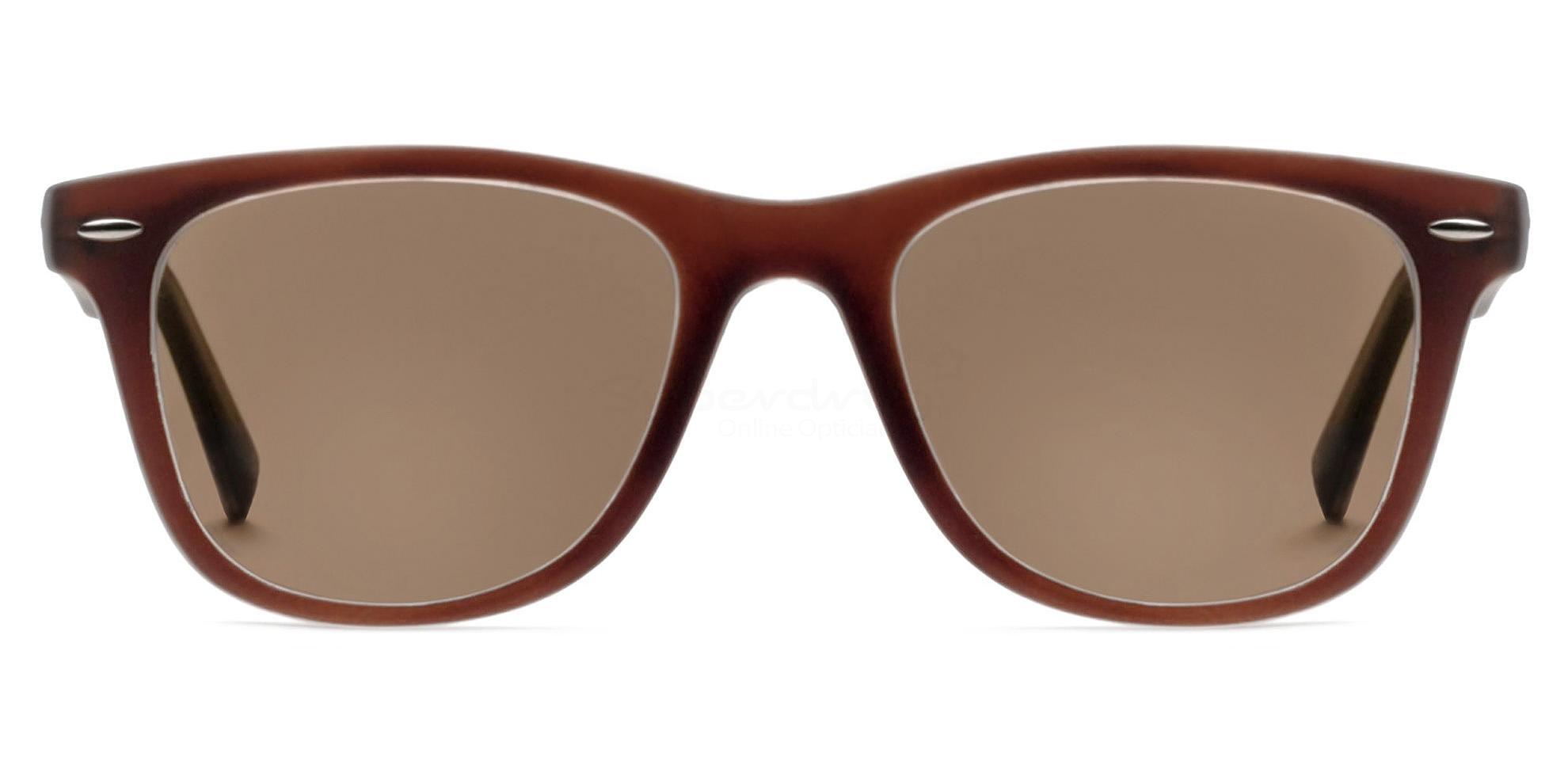 C8 8121 - Brown (Sunglasses) , Helium