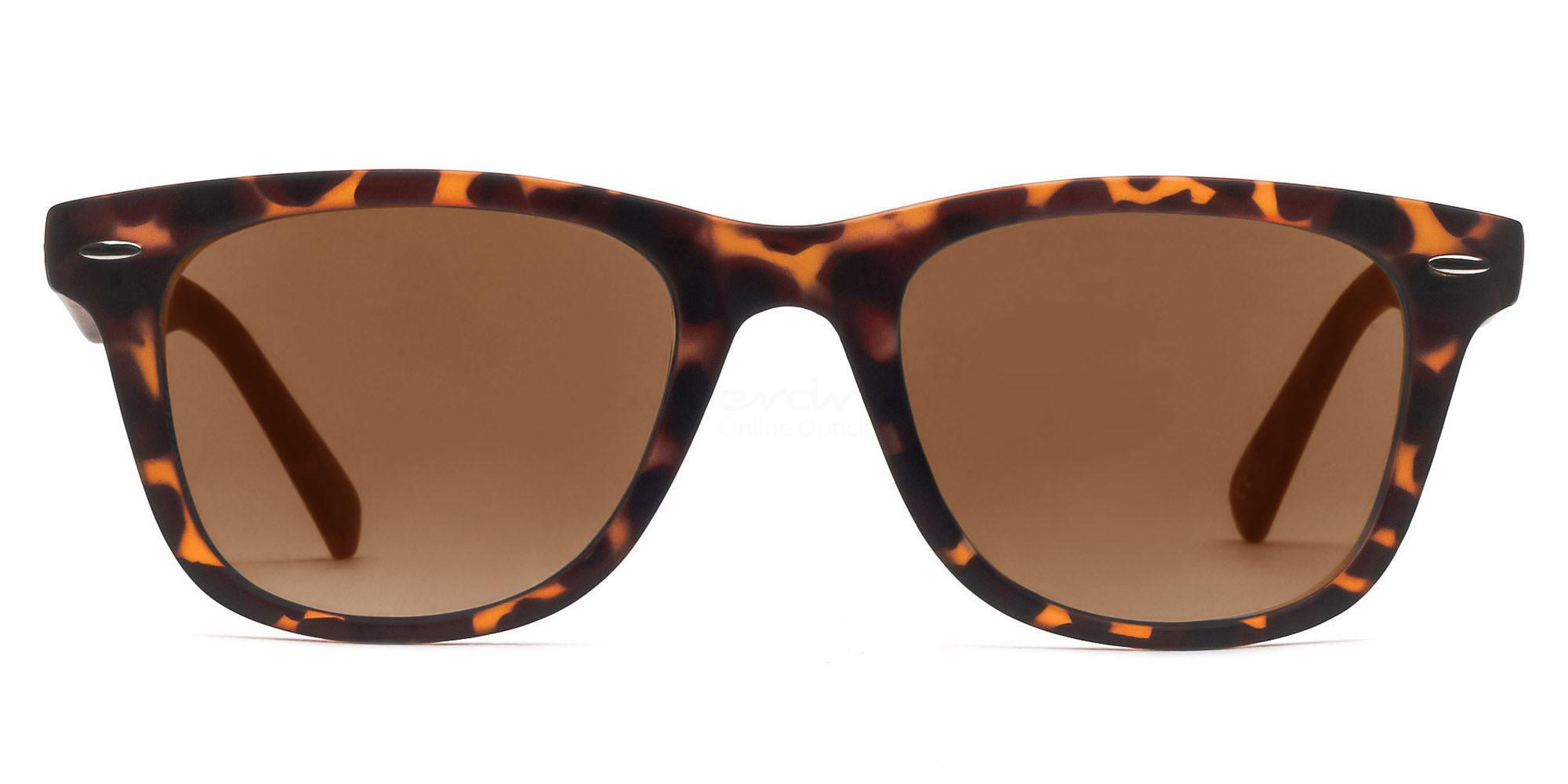 C9 8121 - Tortoise (Sunglasses) Sunglasses, Helium