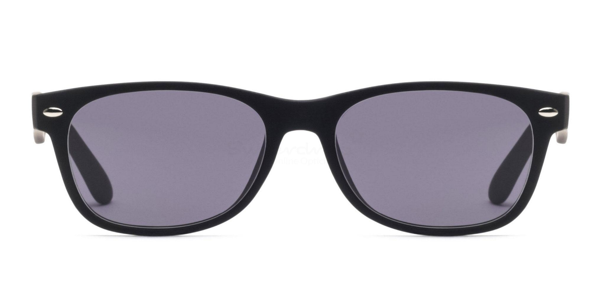 Black S8122 - Black (Sunglasses) , Helium