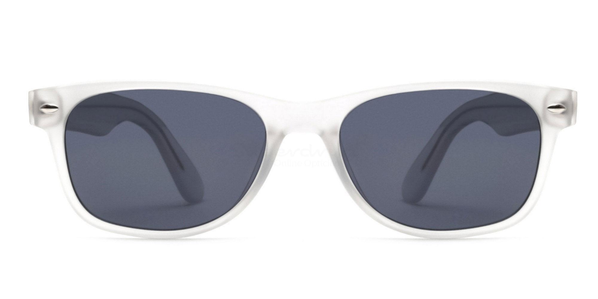 Clear S8122 - Clear (Sunglasses) Sunglasses, Helium