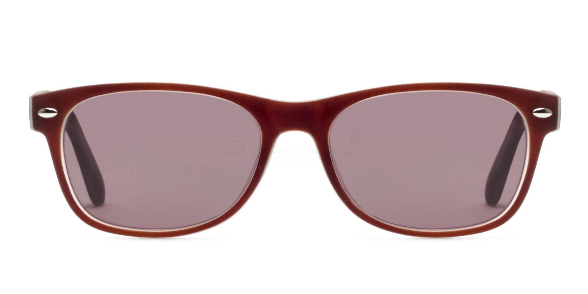 Brown S8122 - Brown (Sunglasses) Sunglasses, Helium