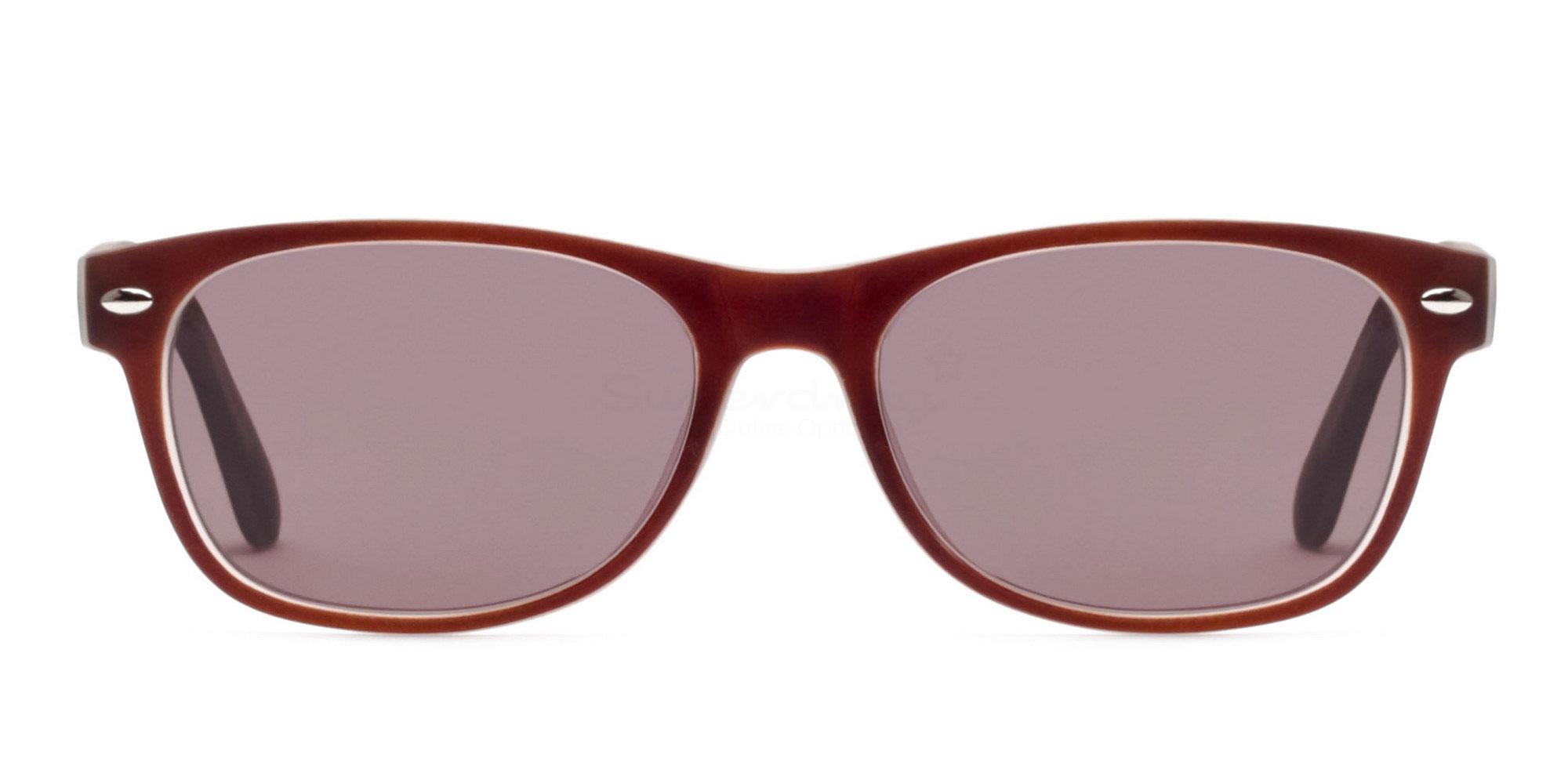 Brown S8122 - Brown (Sunglasses) Sunglasses, Helium