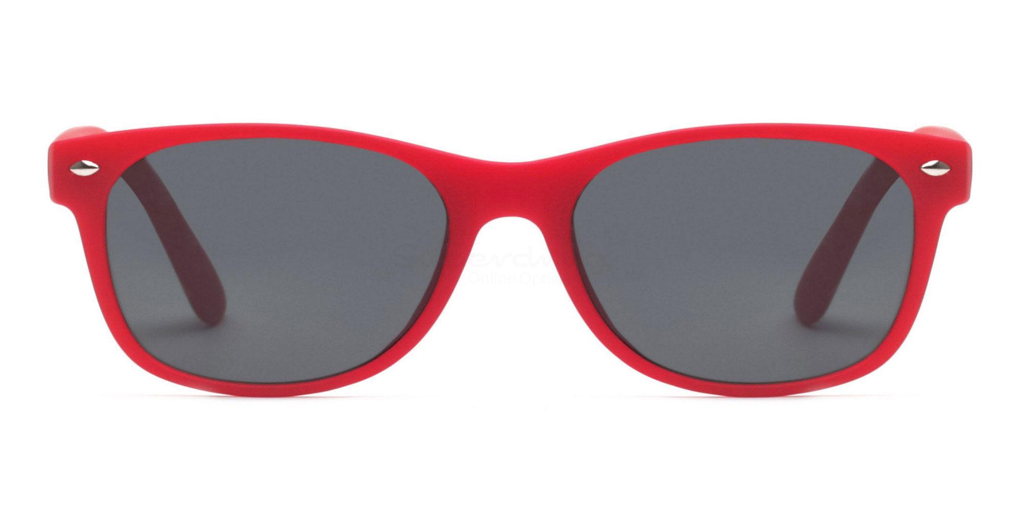 Red S8122 - Red (Sunglasses) Sunglasses, Helium
