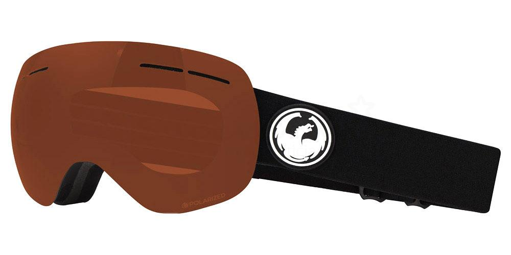 001 DR X1S POLAR Goggles, Dragon