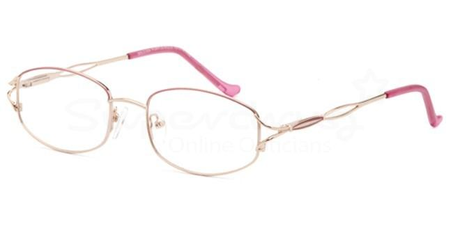 Purple/Gold SIG 009 Glasses, Radon