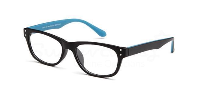 Black/Blue SIG 050 Glasses, Radon