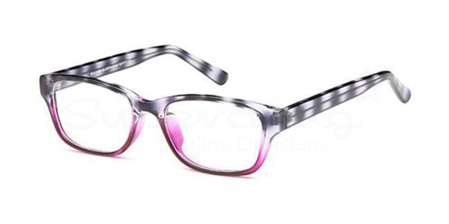 Blue/Purple SIG 053 Glasses, Radon