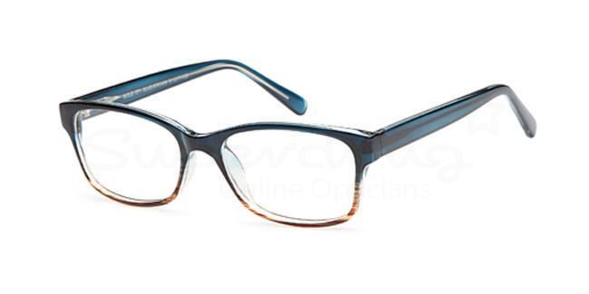 Blue/Brown SIG 055 Glasses, Radon
